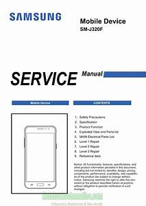 Samsung Galaxy J3  2016  Service Manual  U2013 Sm