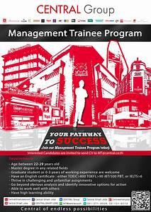 To Make An Internship Cdc โครงการ Management Trainee ของ Central Group