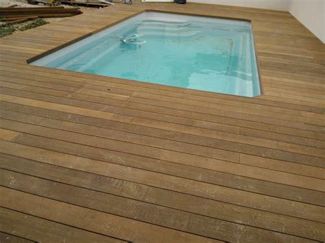 prix terrasse bois posee terrasse en bois parquet plage de piscine marseille