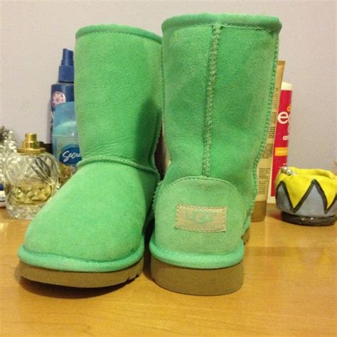 58 ugg shoes mint colored uggs from s closet