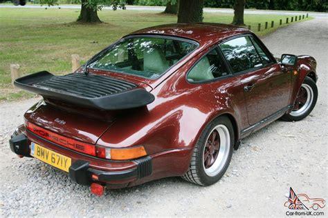 porsche turbo classic porsche 911 turbo 3 3l 1983 930 classic