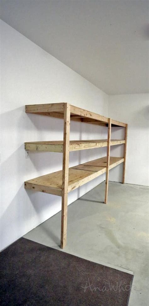 Garage Shelving Do It Yourself by Shop Shelving Ideas Shelving On Washers Mid Century