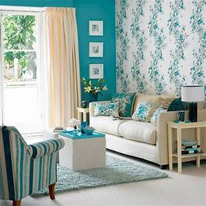 Bilder Mit Rahmen Für Wohnzimmer : wandfarbe t rkis 42 tolle bilder ~ Lizthompson.info Haus und Dekorationen