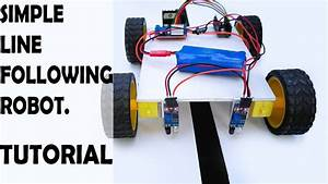 How To Make A Line Following Robot    Arduino Line