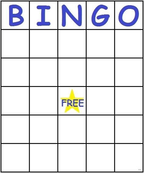 bingo template pdf blank bingo card template microsoft word template