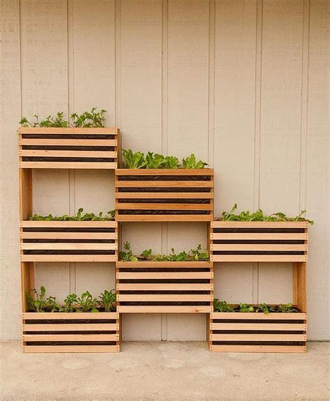green diy craft your own vertical vegetable garden that