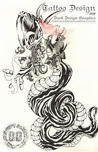Samurai vs dragon tattoo   Tattoo Collection