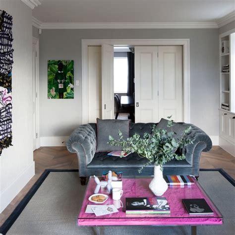 Grey Living Room Ideas Housetohomeco