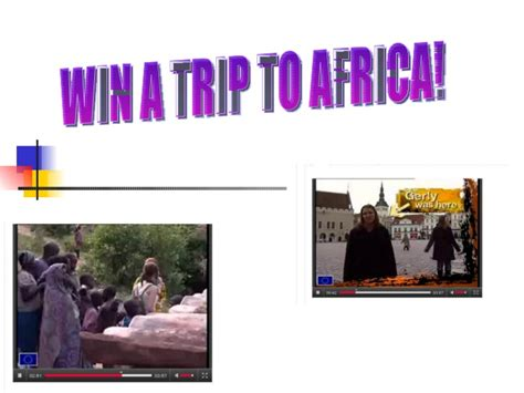 Win A Trip To Africa A