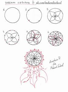 How to draw dream catcher. Tutorial. DIY. | henna ...