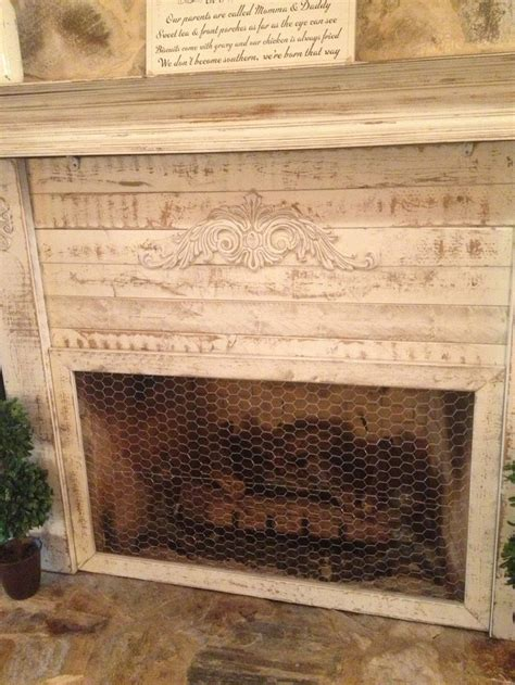 shabby chic fireplace screen pin by christie richardson on southern priss www facebook com souther