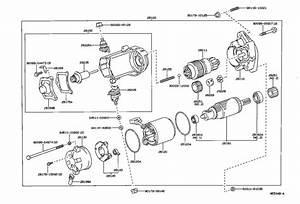 Toyota 4runner Starter Motor  Starter  Remanufactured