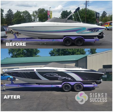Boat Trailer Graphics by Watercraft Signs For Success