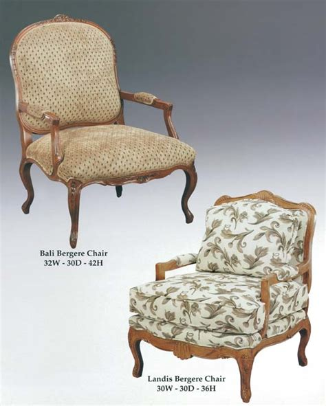 bergere occasional and lounge chairs