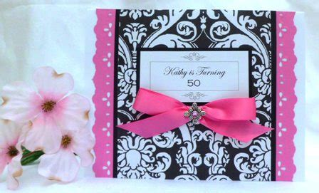 birthday invitations handmade card ideas