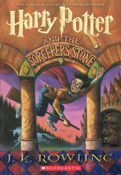 Scholastic Reveals New Book Cover For 'harry Potter And