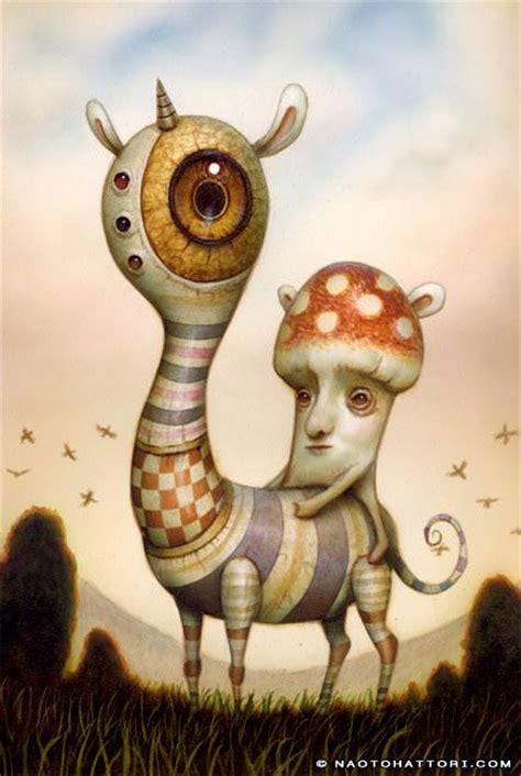 surrealist human nature hybrids  naoto hattori mayhem