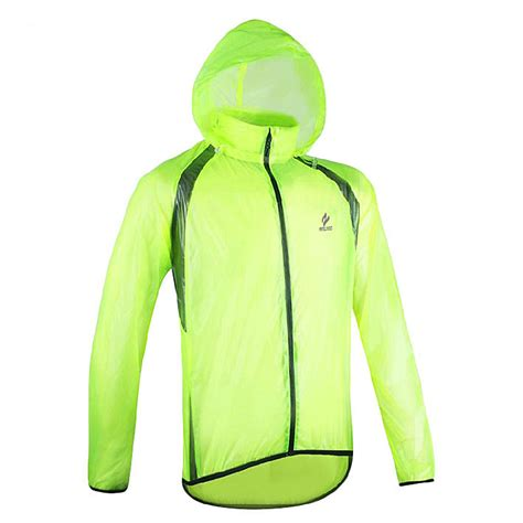 windproof and waterproof cycling jacket new super thin men waterproof windproof cycling rain coat
