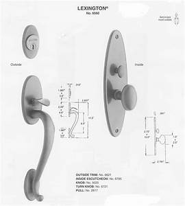 Mortise Lock Repair Diagram