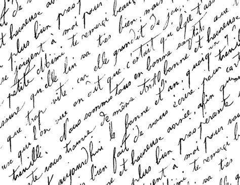 French Script Paper