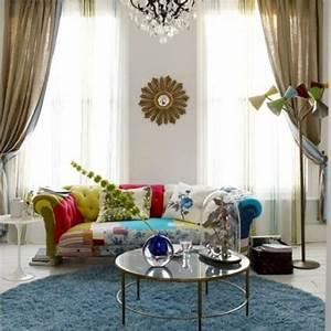 osez le tapis rond pour un interieur tres a la mode With tapis rond moderne