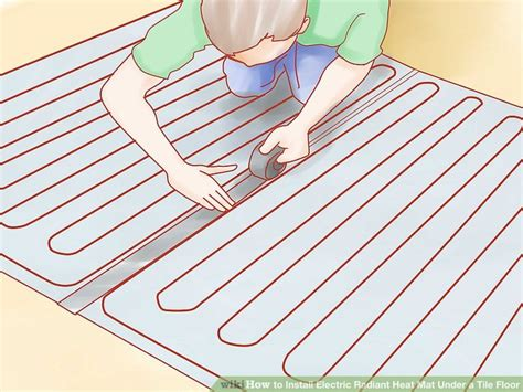 Electric Radiant Heat Mat - how to install electric radiant heat mat a tile floor