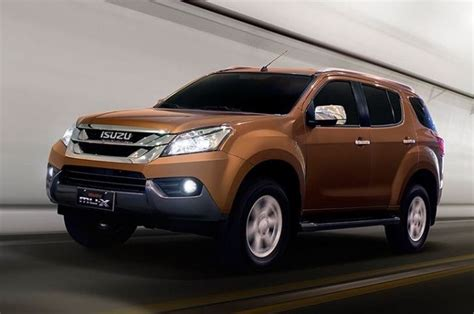 Isuzu India To Launch Mu-x Suv In April 2017 Replacing Mu