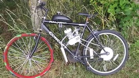 Sids Shed How To Build An 80cc Chinese Motorized Bicycle