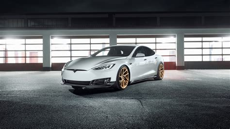 novitec tesla model    wallpaper hd car