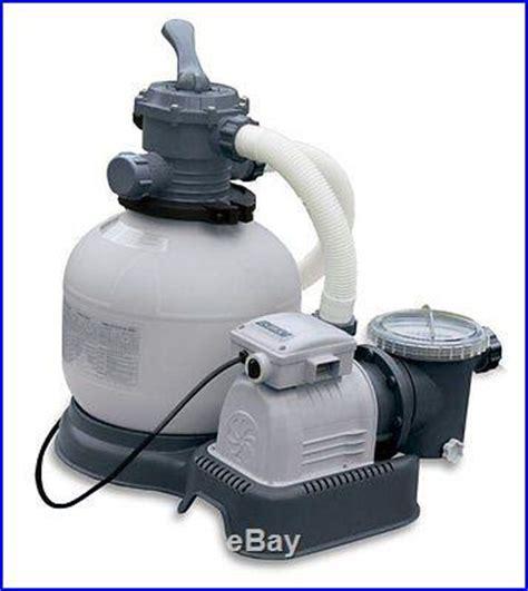 Intex Krystal Clear 2800 Gph Sand Filter Pool Pump With