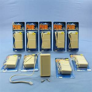 10 Leviton Ivory Phone Telephone Junction Terminal Boxes 6