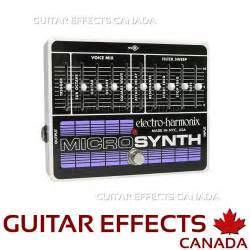 Electro Harmonix Micro Synth Sound Templates by Ehx Micro Synth Ehx Ms 388 00ca Guitar Effects