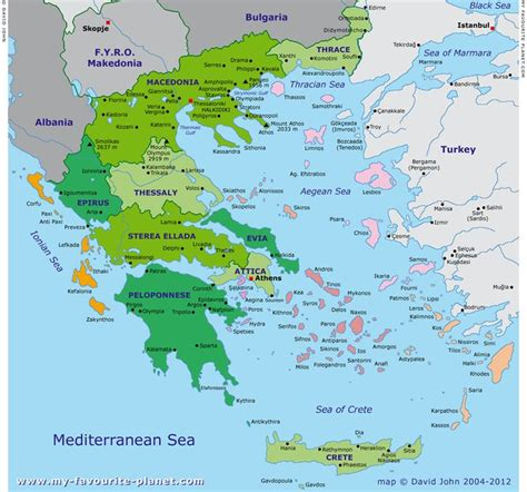 greek islands map ideas  pinterest map