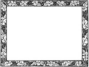 funeral booklets decorative page borders clipart best