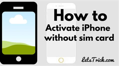 how to activate iphone without sim how to activate iphone without sim card or iphone no sim