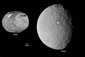 The dwarf planet Ceres