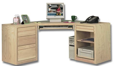 desk with file storage furniture unfinished wood desk with partial glass top and