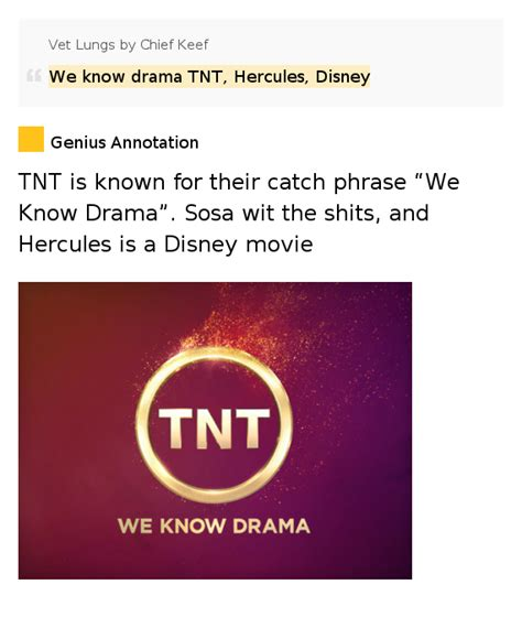 drama tnt hercules disney vet lungs  chief keef
