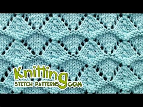 shells lace knitting  youtube