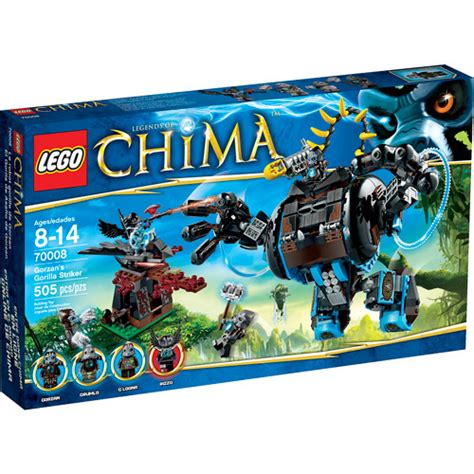 Lego Chima Gorzan's Gorilla Striker Play Set Building