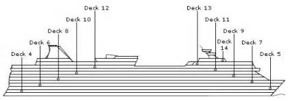 norwegian dawn deck plans