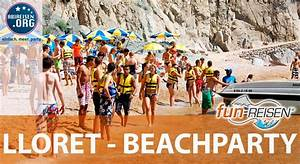 Fun Reisen Einverständniserklärung : fun reisen lloret de mar beachparty youtube ~ Themetempest.com Abrechnung