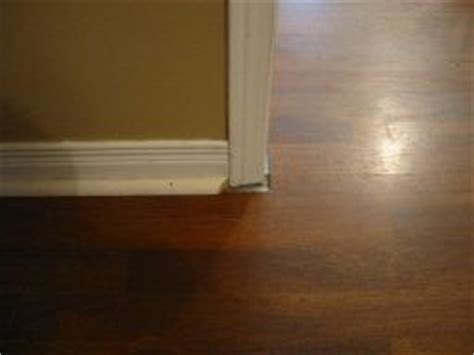gaps under door casing   need options to fix gap left from