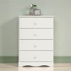 sauder storybook 4 drawer chest soft white dressers iowa