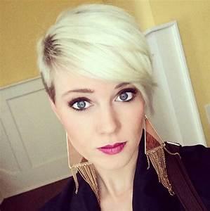 Coupe De Cheveux Courte Tendance 2016 : coupe de cheveux femme courte asym trique 2016 ~ Melissatoandfro.com Idées de Décoration