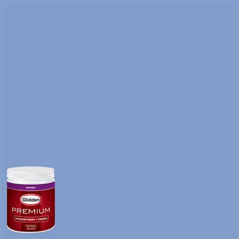 glidden premium 8 oz hdgv28d blue phlox eggshell interior paint with primer tester hdgv28dp