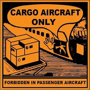cargo aircraft only labels shipping stickers With cargo aircraft only label