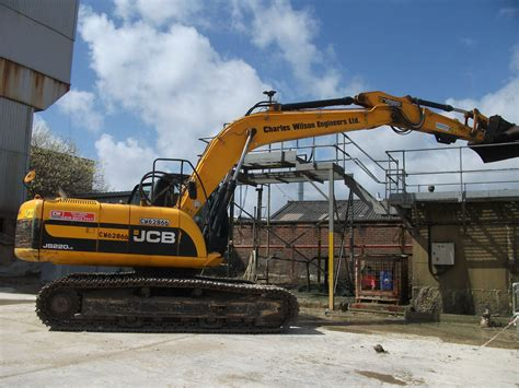 jcb js  lc  charles wilson engineers