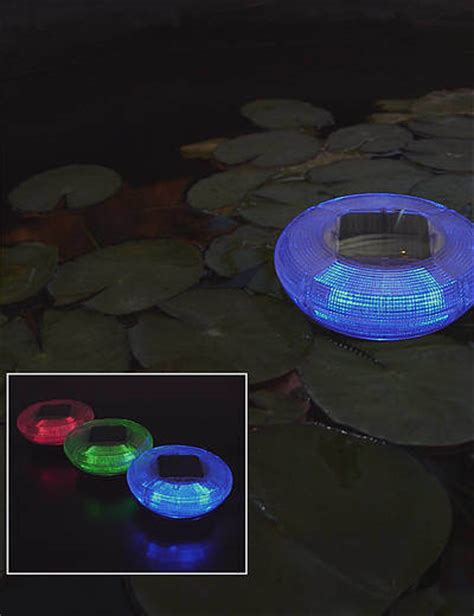 china swimming pool floating solar light sl 01 china
