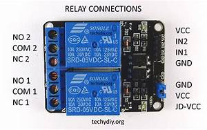 Opto Isolated Dual Relay Module  Arduino